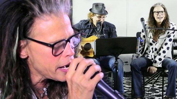 AMAZING! Steven Tyler Brings Hope To Rehab Center! | Society Of Rock Videos