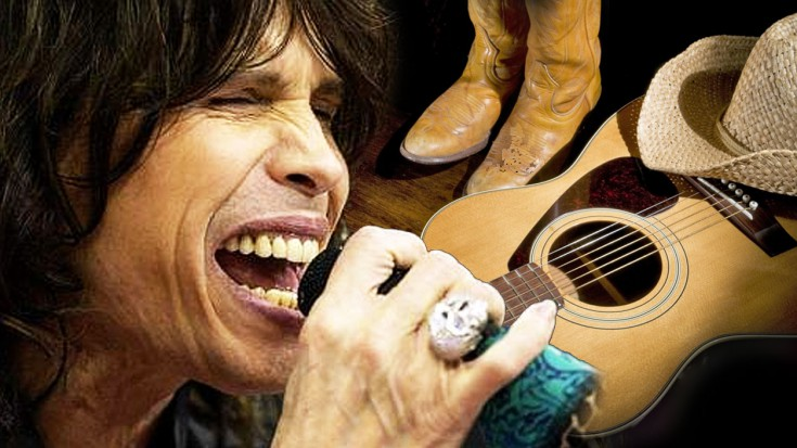 """Steven Tyler Sings """"Amazing Grace"""" And Has SOUL 