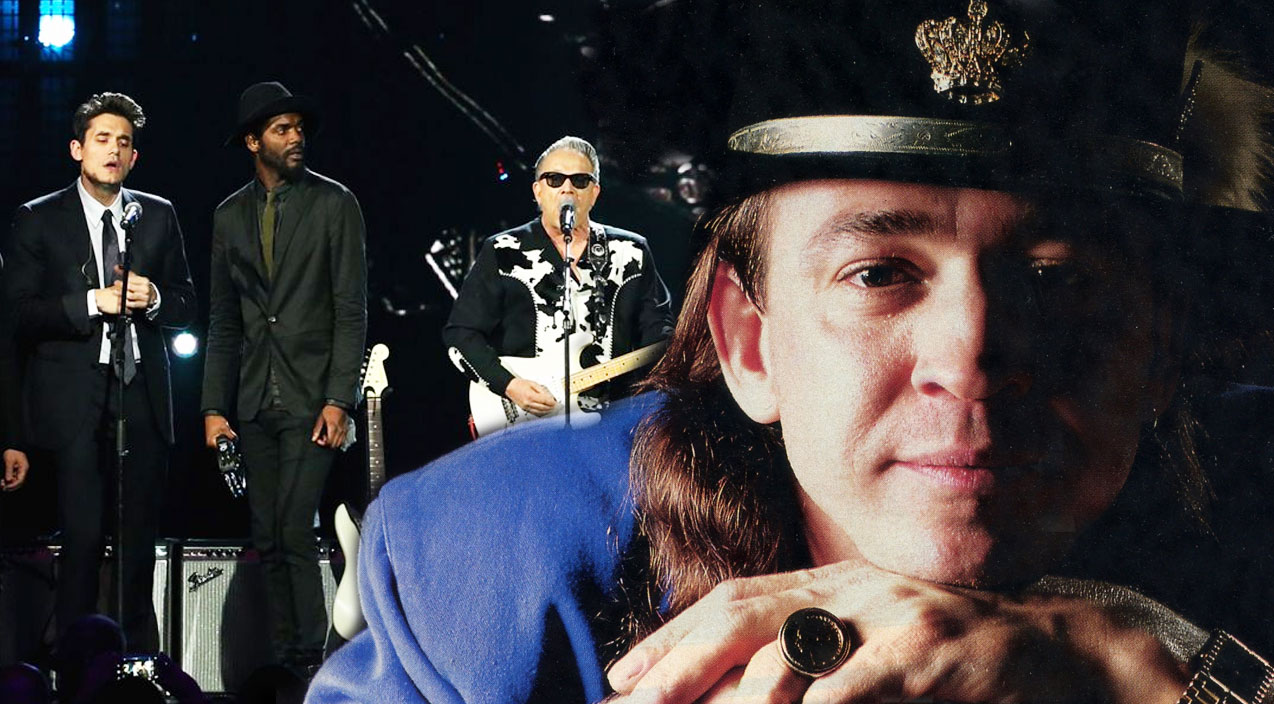Stevie Ray Vaughan's Rock And Roll Hall Of Fame Tribute