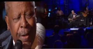 """B.B. King Sings """"Sweet Little Angel"""" Live"""
