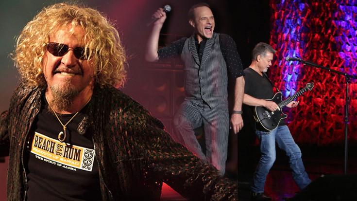 Van Halen Jumps on Ellen DeGeneres | Society Of Rock Videos