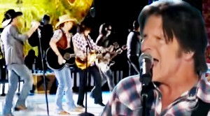 "John Fogerty Shows Country Music Stars How It's DONE On Stage!! ""Born On The Bayou"""
