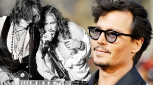 Unbelievable! Johnny Depp Joins Aerosmith Onstage For 'Train Kept A'Rollin'!