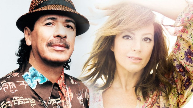 "Carlos Santana and Sarah Mclachlan – ""Angel"" Live 