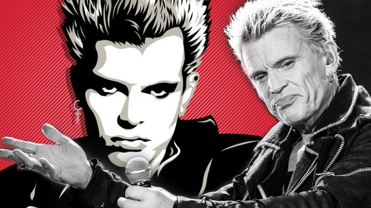 Billy Idol – 'Dancing With Myself' | Society Of Rock Videos