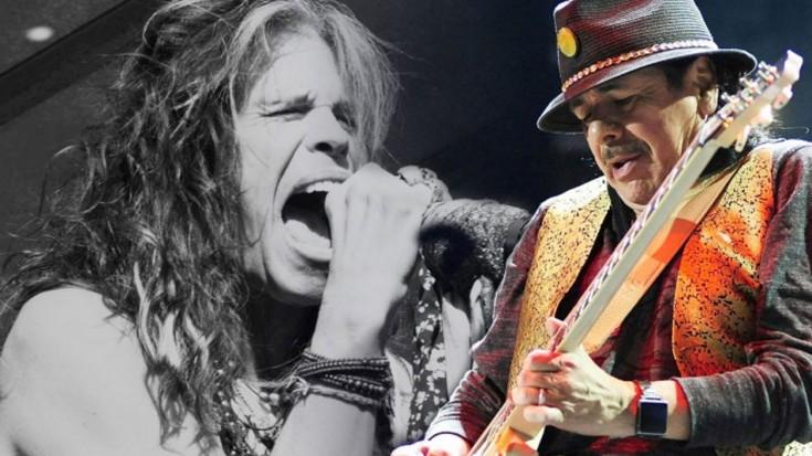 Santana feat. Steven Tyler – 'Just Feel Better'   Society Of Rock Videos