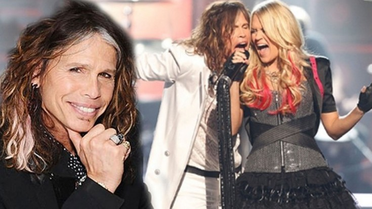 Carrie Underwood & Steven Tyler ~Walk this way 46th ACM | Society Of Rock Videos