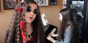 "11-Year-Old Even Knows How Great Janis Joplin Was- Amazing ""Turtle Blues"" Cover"
