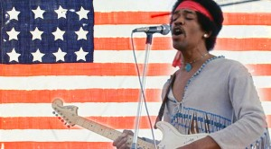 Flashback To Jimi Hendrix And His Career Defining 'Star Spangled Banner' Performance At Woodstock