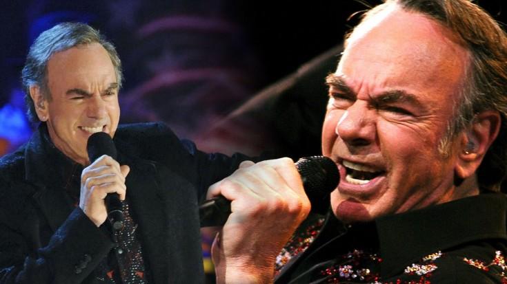 "Neil Diamond Plays ""Cracklin' Rosie"" LIVE- Greatest Hits | Society Of Rock Videos"
