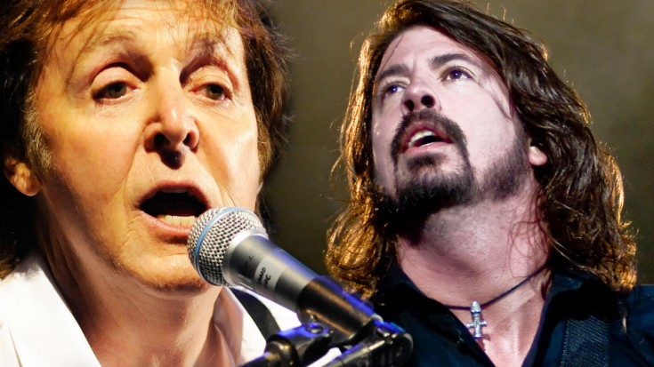 Dave Grohl and Norah Jones STUN With Tribute To Paul McCartney! | Society Of Rock Videos