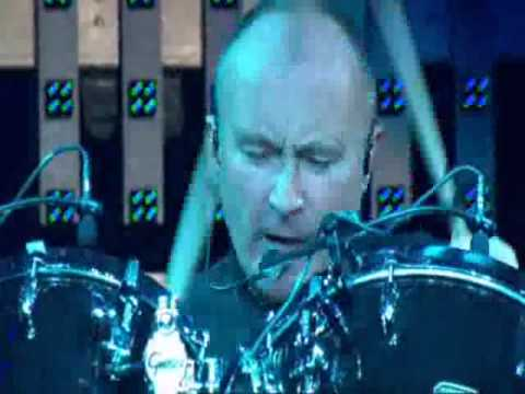Phil Collins In The Air Tonight Live Society Of Rock