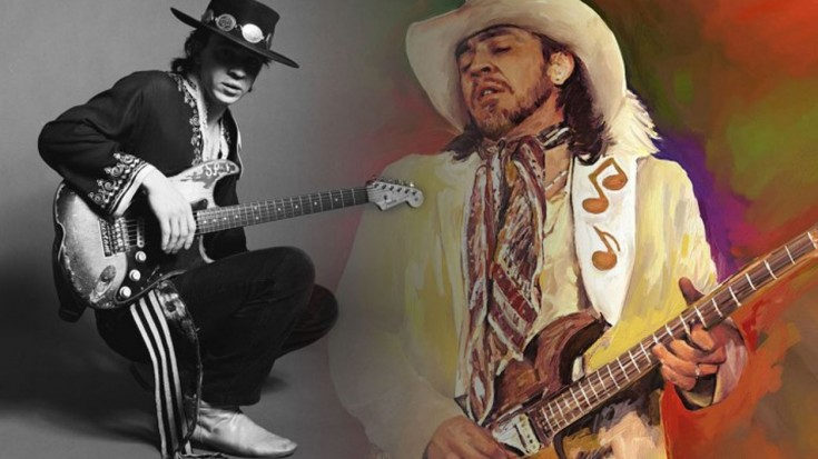 Stevie Ray Vaughan – Crossfire (1/24/89) | Society Of Rock Videos