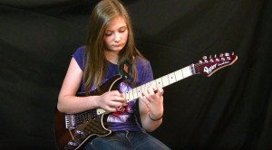 Teen Guitar Prodigy Tina S. Channels Eddie Van Halen With 'Eruption'!