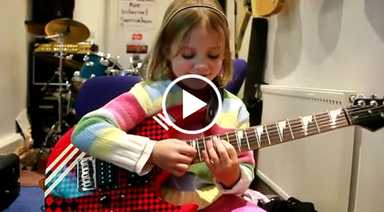Adorable 8 Year Old Girl Absolutely Nails Sweet Child O
