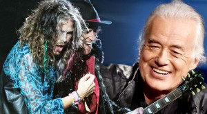 Jimmy Page & Aerosmith Onstage and Backstage at Donington, 1990!