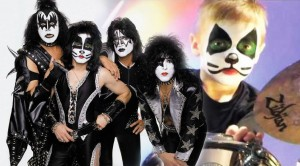 Young Avery is back at it again! And this time he performs with KISS! WOW!