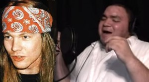 AMAZING Axl Rose Impersonator Of the Century!!