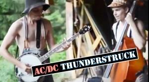 "AMAZING Bluegrass Cover of ""Thunderstruck""!! (WATCH)"