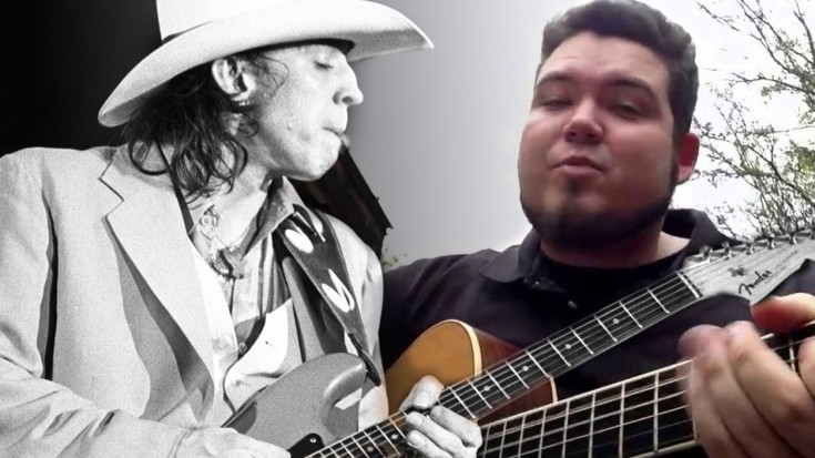 "Walmart Rocker Clay Shelburn STUNS On Proper Cover Of ""Pride And Joy""! | Society Of Rock Videos"