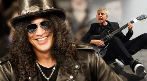 Slash And…Ellen? The Duet You Never Knew You Wanted!