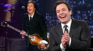 Paul McCartney Names His Favorite Ringo Starr Songs on Jimmy Fallon!