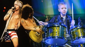 """INSANE! 6 year old drummer stuns us with his drum cover of """"Paradise City"""" by Guns N' Roses"""