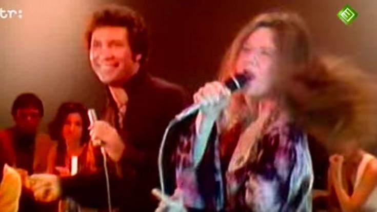 Tom Jones and Janis Joplin – Raise your hand (1969)   Society Of Rock Videos