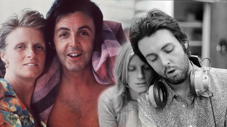 McCartney serenades Linda with an acoustic medley- Blackbird-Bluebird-Michelle | Society Of Rock Videos