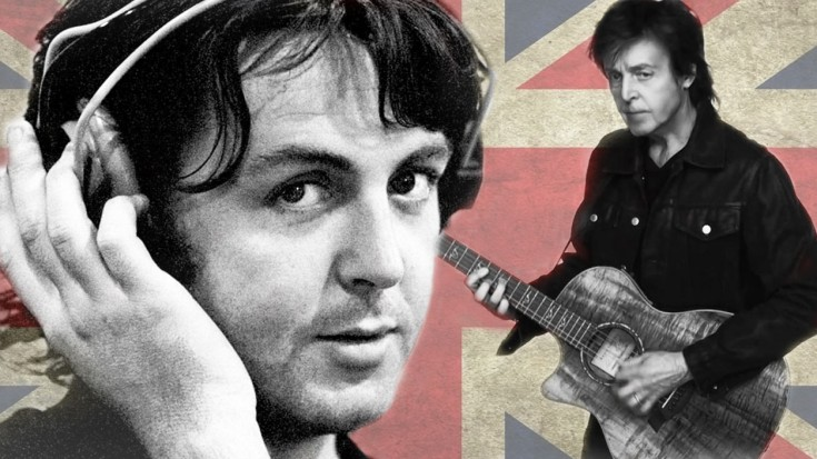 """Paul McCartney Goes Unplugged For """"And I Love Her"""" 