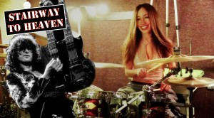 "Great Drum Cover of ""Stairway to Heaven"" by Meytal Cohen"