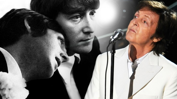 Paul McCartney Shares His Love For John Lennon With Here Today