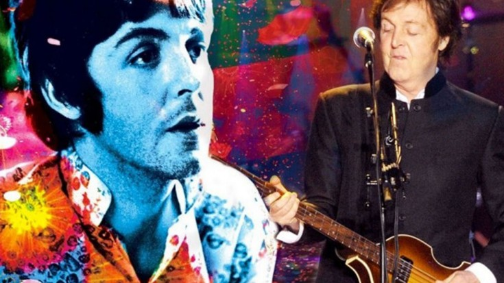 Paul McCartney And Wings Band On The Run Live At Glastonbury