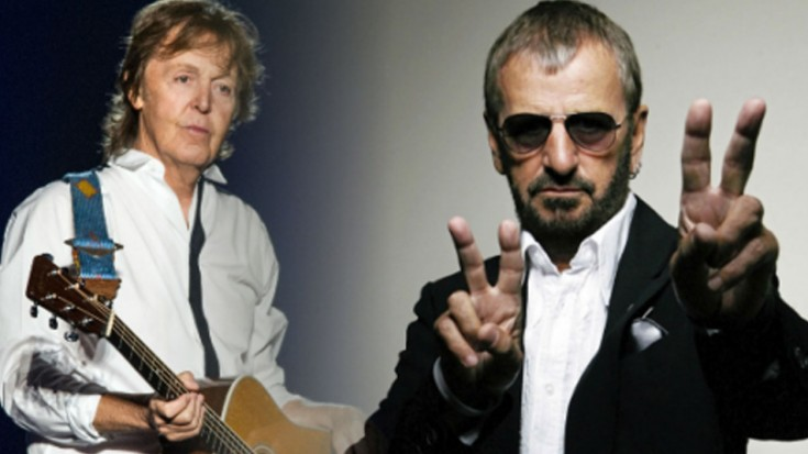With Little Help From Its Friends Peace >> Paul Mccartney And Ringo Starr With A Little Help From My Friends