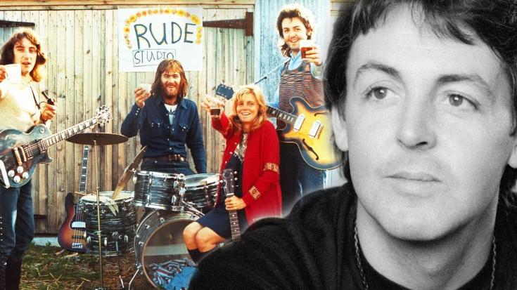 Paul McCartney Wings Bluebird Acoustic Rehearsal