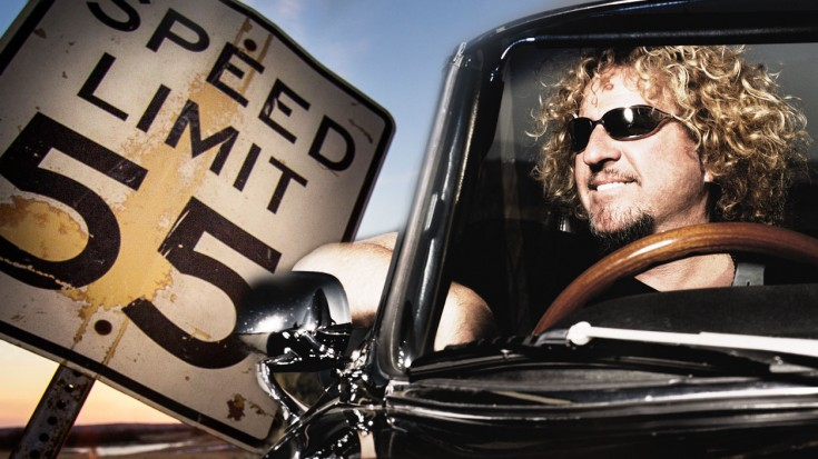 Image result for Image of Sammy Hagar I can't drive 55