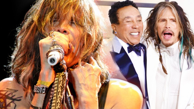 """Steven Tyler Joins Smokey Robinson For """"You've Really Got A Hold On Me"""" Duet! 