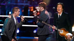 "The Voice's Griffin and Luke Wade Battle For Glory With ""Maybe I'm Amazed"""