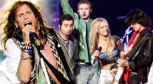 Aerosmith Rocks The Super Bowl w/ Nsync, Britney Spears!
