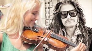 "These Street Performers Got A ""Crazy"" Surprise From Steven Tyler!"