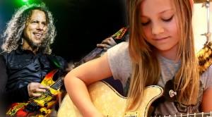 "Metallica Who? 7-Year-Old Mini Band Guitarist Zoe Jams To ""Enter Sandman"" And It's Amazing!"