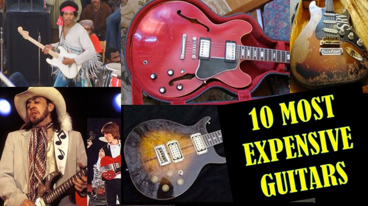 10 Most Expensive Guitars In The World- #1 Is NOT What You Think | Society Of Rock Videos