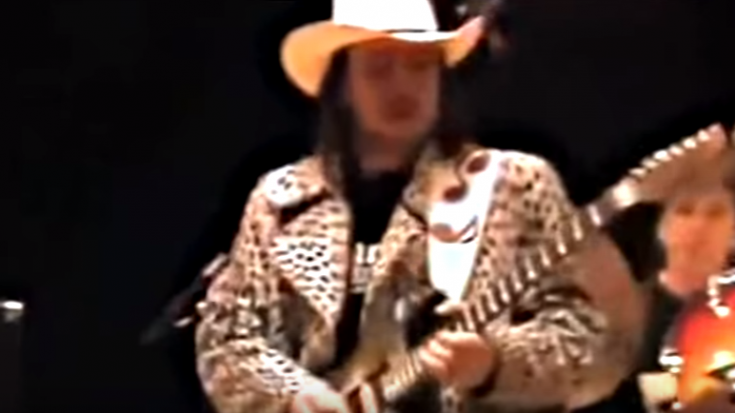 Stevie Ray Vaughan Doing Sound Check   Society Of Rock Videos