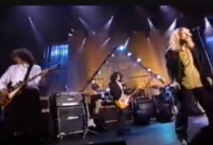 """Aerosmith Rocks With Led Zeppelin To """"Bring It On Home"""" Live"""