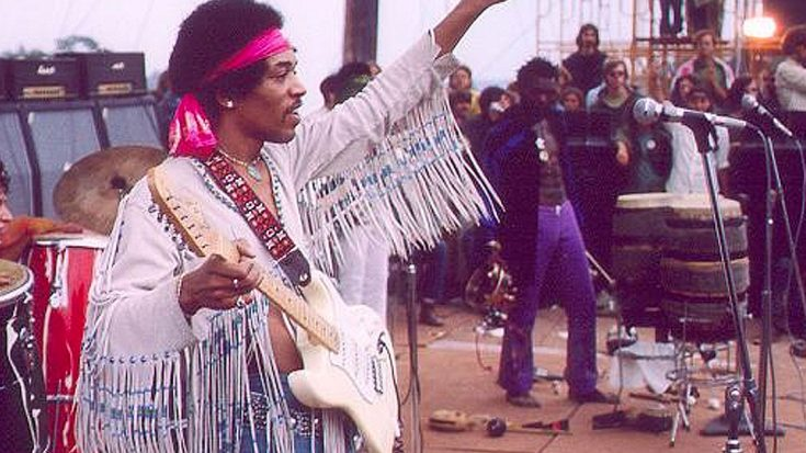 "Happy Birthday, Jimi Hendrix! Here's A Look Back At His Iconic Woodstock ""Voodoo Chile"" Performance 
