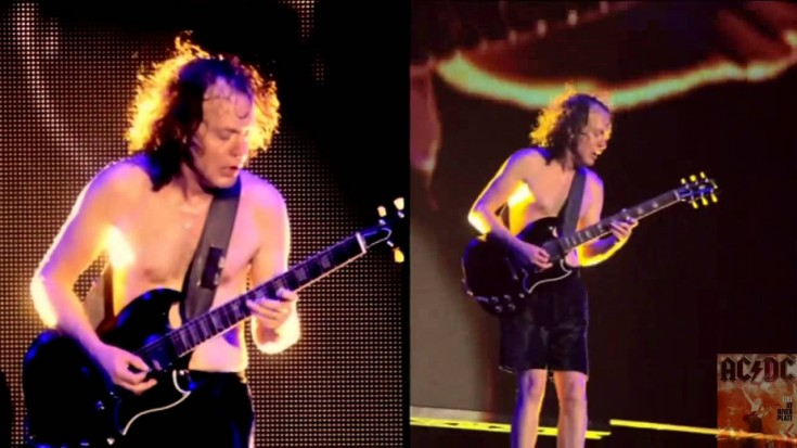 Angus Young's KILLER Guitar Solo Live At River Plate | Society Of Rock Videos