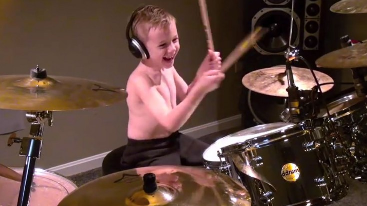 "6-Year-Old Guns N' Roses Fan Jams High-Octane Classic ""Welcome To The Jungle"" 