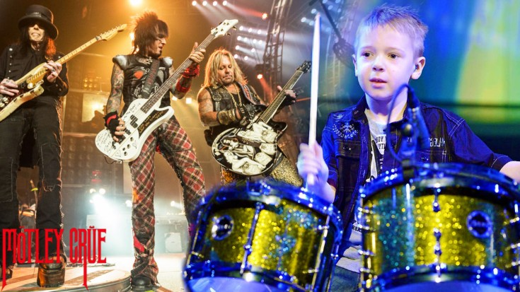 "This 6-Year-Old Rocks Mötley Crüe's ""Girls Girls Girls""!   Society Of Rock Videos"