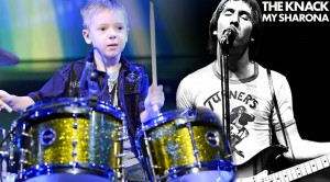 """8-Year-Old Rocks The Knack's """"My Sharona"""" And Makes It His Own!"""