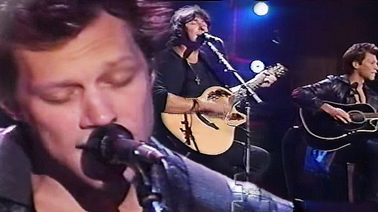 """Bon Jovi – """"Wanted Dead Or Alive"""", Unplugged   Society Of Rock Videos"""